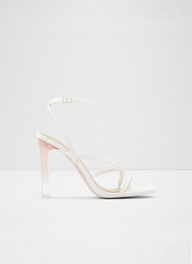 Aldo Hainiel - Beyaz Kadin Topuklu Sandalet Beyaz